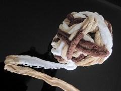 Warm Acrylic Ella Ruffle Yarn