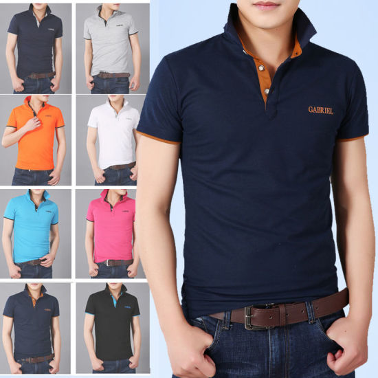 Wholesale Custom Unique Polo Shirts China with Style Clothing Manufacturer pictures & photos