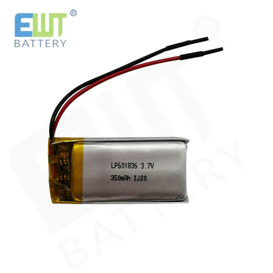 Wholesale Polymer Lithium Battery Lp601836 3.7V 350mAh for Smart Watch pictures & photos