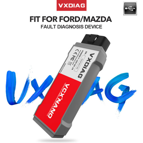 Original Vxdiag Vcx Nano for Ford/ Mazda 2 in 1 with IDS V100.01 USB Version Vxdiag Auto Diagnostic Tools pictures & photos
