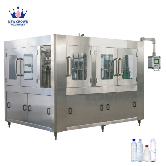 Bottle Line Plant Beverage/ Juice/ Carbonated Drink Soda/Soft Drink/ Mineral or Pure Water Liquid Filling Automatic Bottling Machine