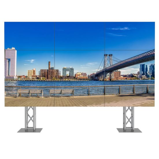 46inch 3X4 LCD Ultra Narrow Bezel LED Multi Screen Video Wall LCD Seamless Video Wall for Advertising pictures & photos