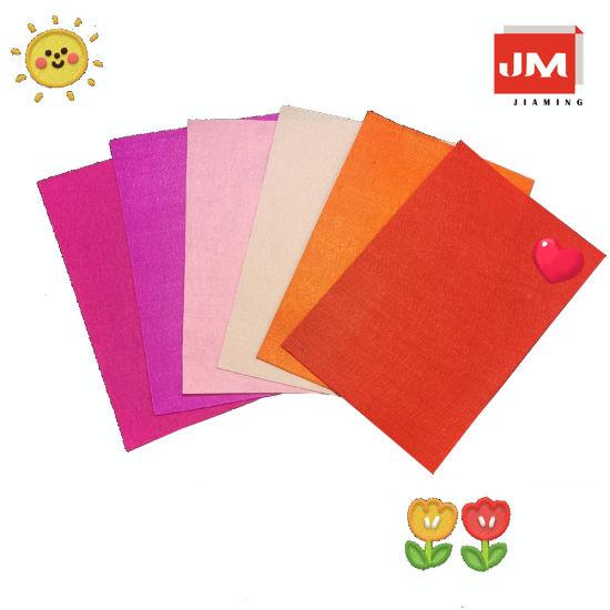 Felt Fabric Craft Felt Sewing Felt Leaves, DIY Polyester Colorful Felt Fabric Craft Felt
