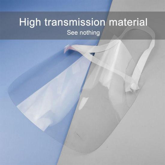 Wholesale Disposable Custom FDA Ce Clear Plastic Transparent Safety Protective Adjustable Dental Anti-Fog Pet Full Facial Shield Protector
