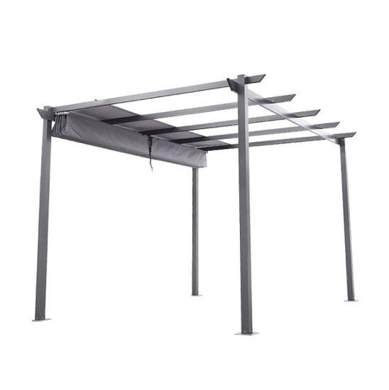 3x3m Steel Art Gazebo Outdoor Furniture
