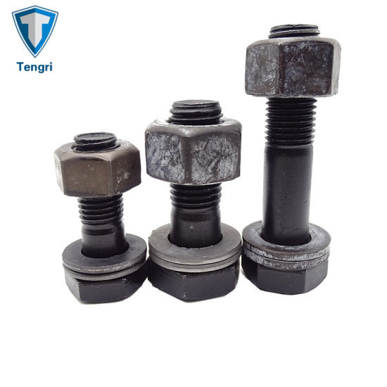 M8 Part Threaded Bolts c//w Nuts and Washers Zinc Plated High Tensile Grade 8.8