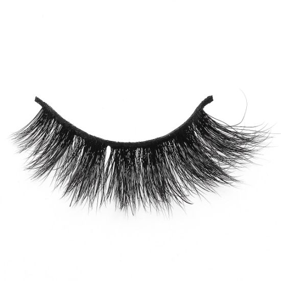 Private Label Custom Packaging Real Mink Eyelashes 3D Mink Lashes for Sale