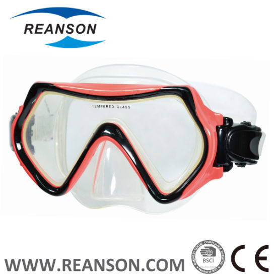 Double Color Injection Diving Mask pictures & photos