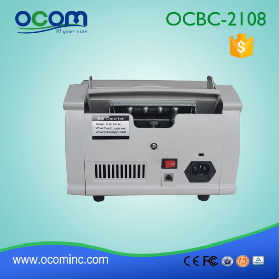 Ocbc-2108 UV+Mg Money Currency Banknote Counter and Detector pictures & photos