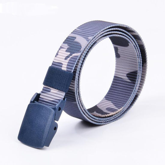 High Quality Camouflage Tactical Military Nylon Webbing Belt (RS-17002A)