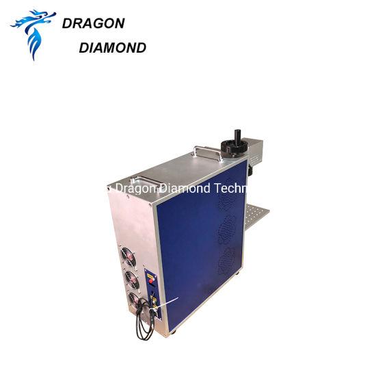 Metal Plastic Fiber Laser Marking Machine Price Wholesale