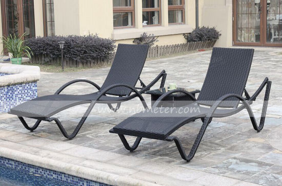 Rattan Sun Lounge Set and Garden Furniture for Outdoor pictures & photos
