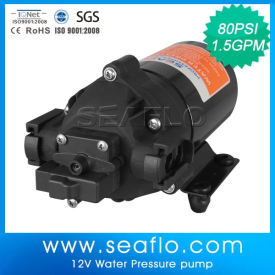 Portable 12V/24V DC Best Water Pump Motor Sold in India