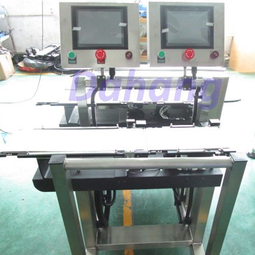 Double Lines Checkweigher/Weight Sorting Machine with High Speed pictures & photos