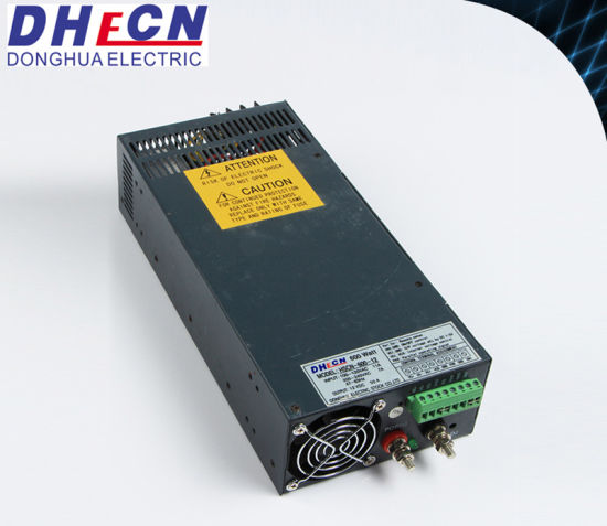 24V 25A 600W AC/DC Switch Power Supply with Parallel Function
