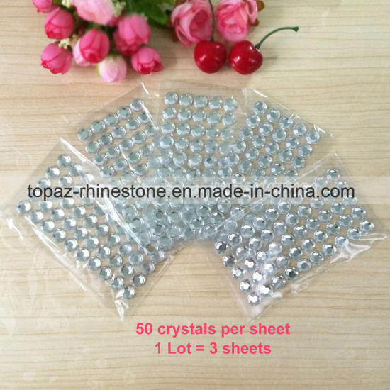 New Diamante /& Pearl Craft Stickers Rhinestone Crystal Card Making Self Adhesive