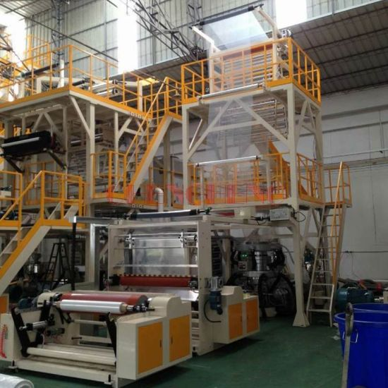 Ab Co-Extrusion 2 Layers Film Blowing Machine