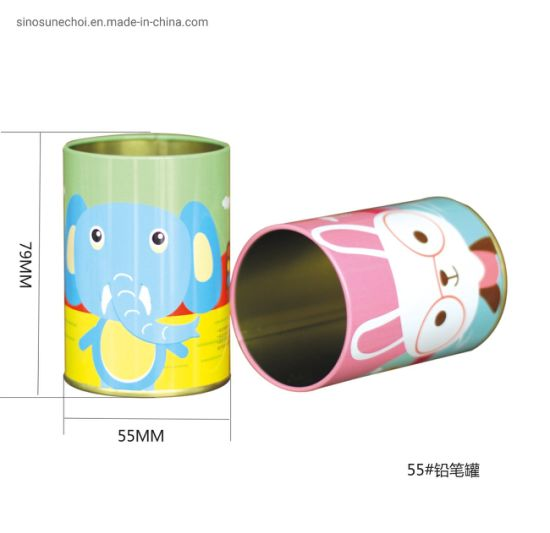 Round Cylinder Tea Packaging Box Tin Box Hot Sale pictures & photos