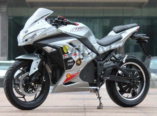 Electric Racing Motorcycle 72V 3000W E Sport Motorcycle Xrz pictures & photos