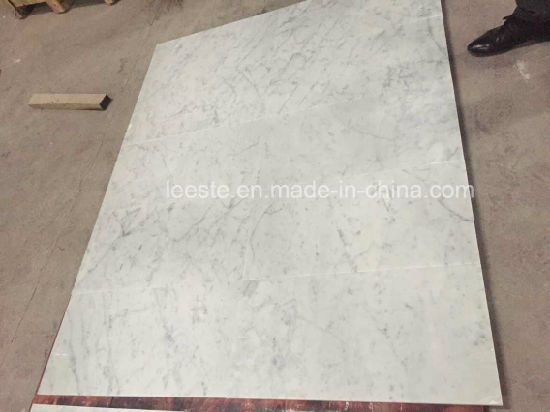 Top Grade Bianco Carrara White Marble, Marble Tile and Onyx Marble pictures & photos