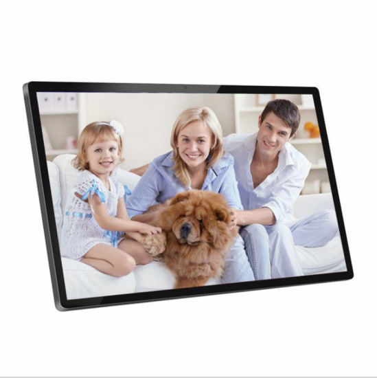 32inch Big Large LCD Screen Wall Mount 30 32 Inch Digital Photo Picture Frames Big Size pictures & photos