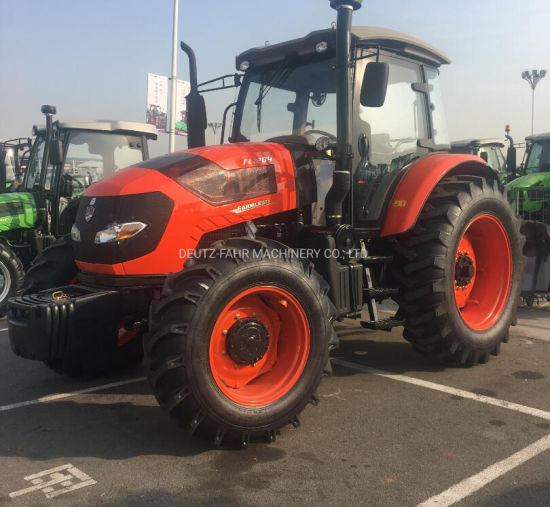 120HP China Producing Big Agricultural Farming Tractor with Cabin