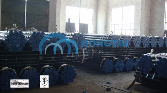 with API Monogram Certificate License Hot Rolled ASME A106 Gr B Seamless Steel Pipe pictures & photos