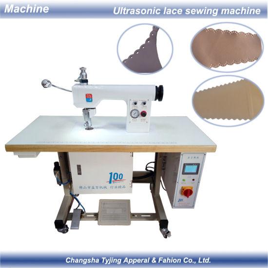Ultrasonic Seamless Underwear Bra Lace Sewing Cutting Sealing Machine
