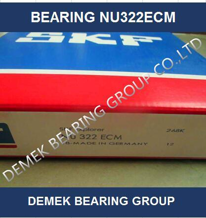 High Speed Cylindrical Roller Bearing Nu322 Ecm with Brass Cage pictures & photos