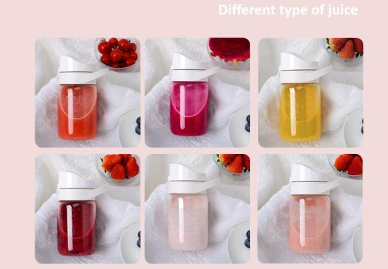 Portable Fruit Vegetable USB Small Mini Juicer Juice Cup Blender pictures & photos