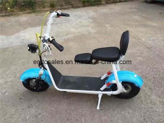 2016 The Most Fashionable Citycoco 2 Wheel Electric Scooter, Adult Electric Motorcycle pictures & photos
