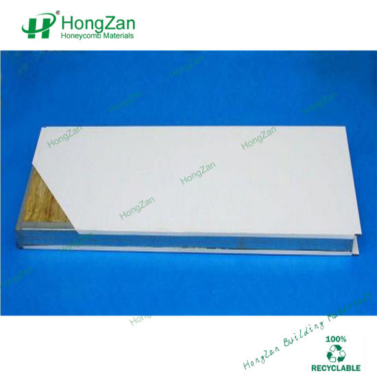 China Glassfiber Rock Wool Sandwich Panel for Ship Hull