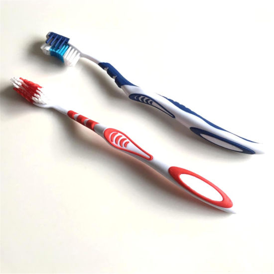 Nylon PP Personal Care Cleaning Adult Toothbrush Tongue Cleaner