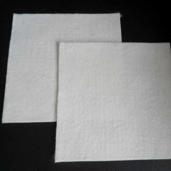 Pet Polyester Short Fiber Needle Punched Geotextile Used in Landfill
