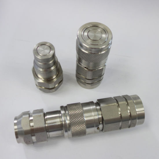 Naiwo Factory Quick Coupling Stainless Steel Flat Face Coupler Connector
