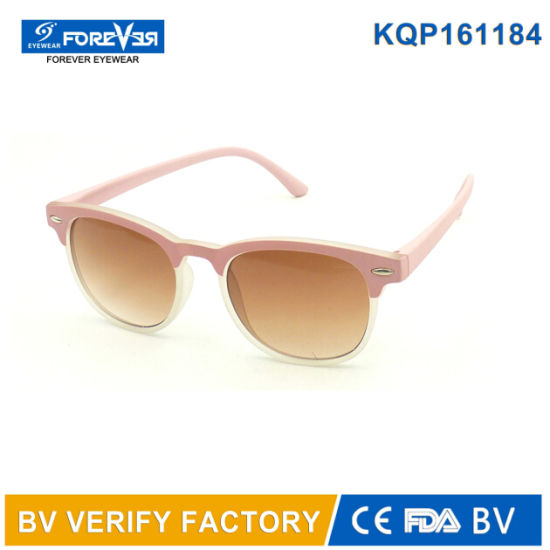 1bd853419d2ad China Kqp161184 Children Sunglasses Hotsale Clubmaster Style - China ...