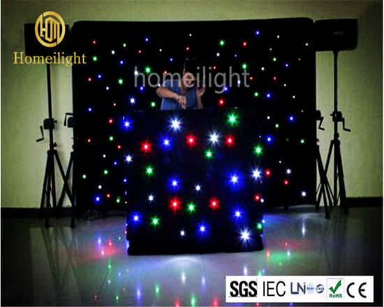 Wedding Disco Club Stage LED Star Curtain Light