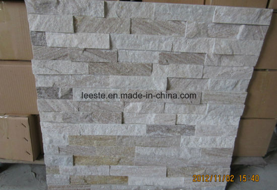 Quartize Ledge Stone, Quartzite Stacked Stone and Quartize Wall Cladding pictures & photos