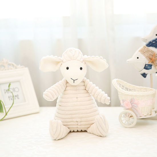 Wholesale Safety Soft Plush Stuffed Animal Sheep Toy for Baby