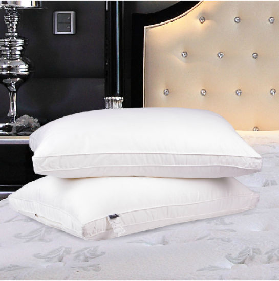 Five-Star Hotel Ultra-Soft Feather Down Pillow, Goose Down Pillow