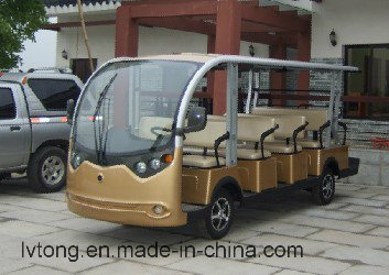 Ce Certificated 14 Seater Sightseeing Car pictures & photos