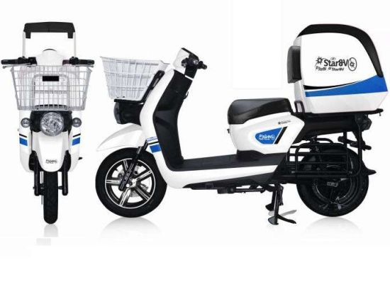 China Green Power Electric Scooter Motorcycle Cargo with Cabin pictures & photos