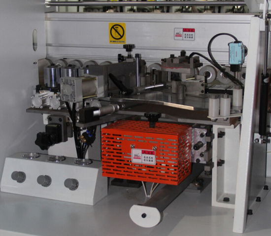 Up Slotting Full Automatic Edge Banding Machine/ Edge Banding Machine for Woodworking Kitchen Cabinet Door/ Woodworking Automatic Edge Banding Machine pictures & photos