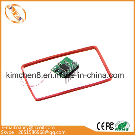 China 125kHz RFID Card Reader Air Coil Inductor Induction