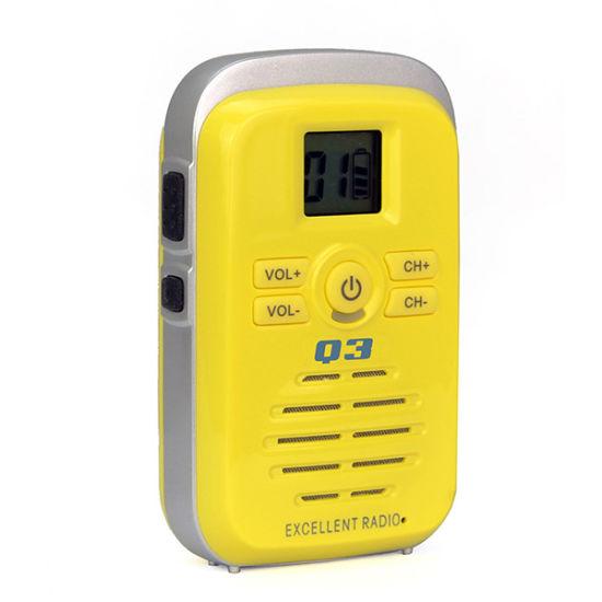 Children's Walkie-Talkies Q3 Mini Portable Two Way Radio