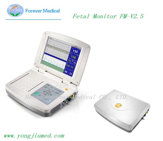 10.4 Inches High-Tech Fetal Monitor High-Brightness TFT LED Touch Screen Monitor pictures & photos