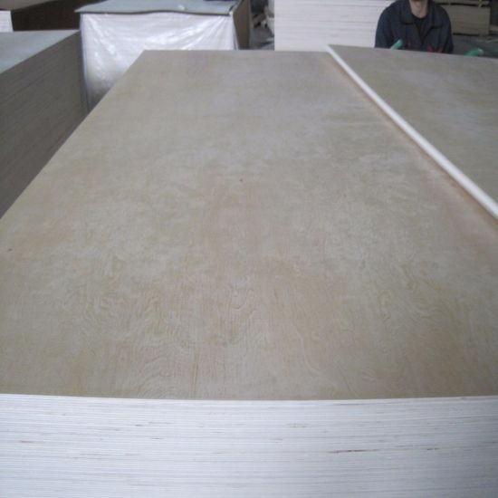 Birch Main Material and E0 Formaldehyde Emission Standards UV Coated Plywood