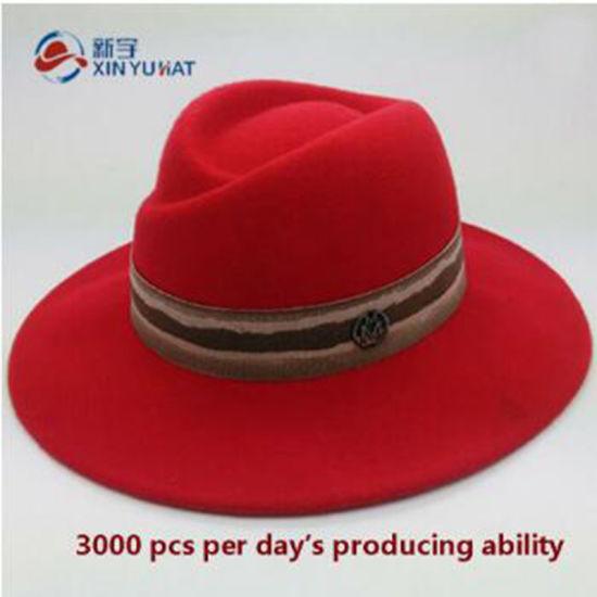 9d01fbc9f2b6a China Girl′s 100% Wool Felt Homburg Hat - China Wool Felt Hat
