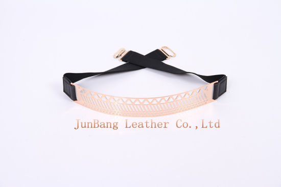 Newest Colorful PU Elastic Strech Belt for Jeans