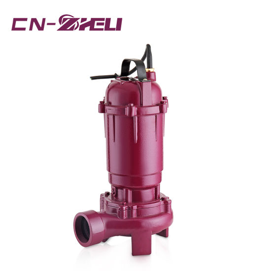 Cast Iron Electric Waste Water Cut Submersible Pump for Agriculture pictures & photos